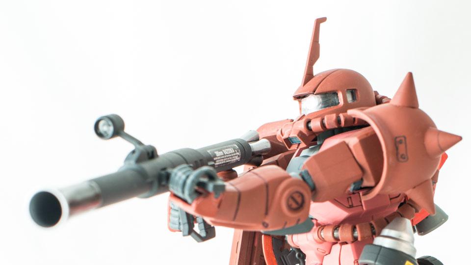 Zaku II MS-06S v3.0 – Gunpla Bandai