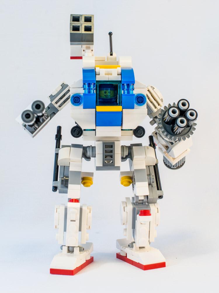 LEGO MOC Mecha - Mech01