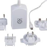 Raspberry Pi Model B+ OFFICIAL 5V 2A Multi National Power adapter