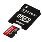 Transcend TS16GUSDU1 MicroSDHC Class10 U1 con adattatore