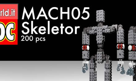 MACH05 Skeletor – MOC Lego