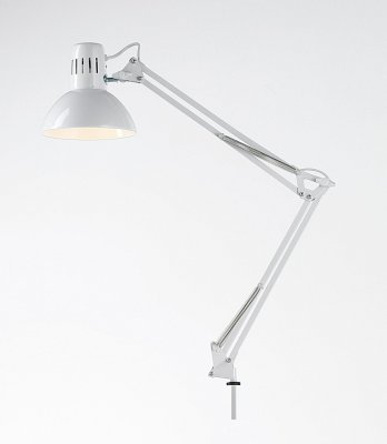 Lampada Da Tavolo Modello Architetto Colore Bianco