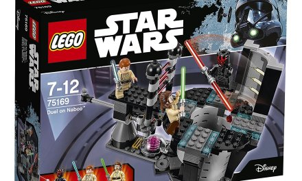 LEGO STAR WARS 75169 Duel on Naboo time lapse