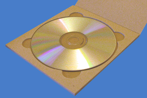 Eco CD-DVD Tray (Natural, Environmentally-friendly CD Tray)