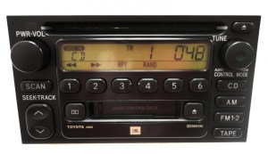 REPAIR SERVICE ONLY TOYOTA AM FM Radio Stereo Single CD Player Factory OEM FIX | eBay
