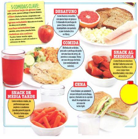 5 comidas