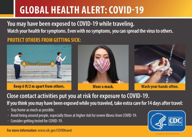 After You Travel Internationally | CDC