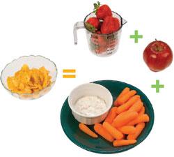 foto de verduras y frutas
