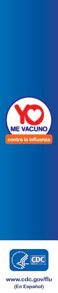 Yo me vacuno contra la influenza.