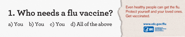 Learn about Who Needs A Flu Vaccine.