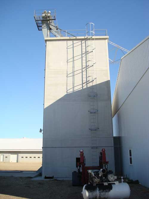coal storage silo