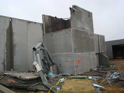 silo damage
