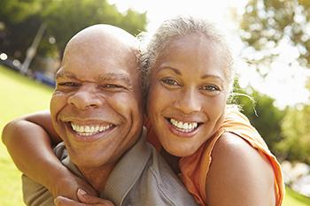 Older adult couple