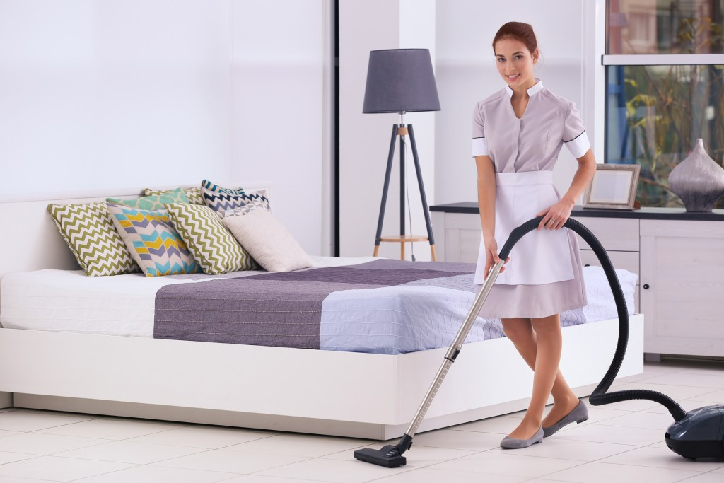 Staff_hoovering