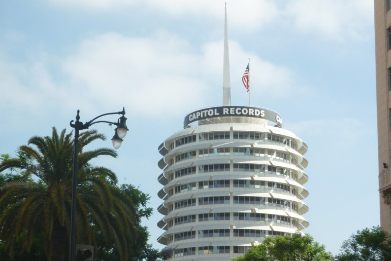capitol records hollywood boulevard