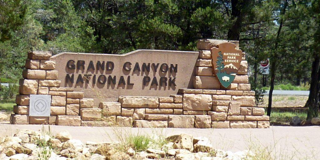 entrée grand canyon