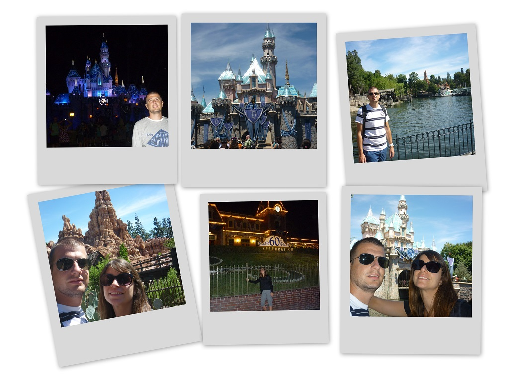 Polaroid Disneyland California
