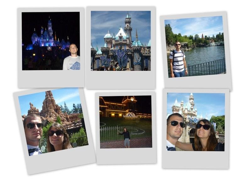 Polaroid Disneyland California