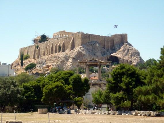 visite d'Athènes en Grèce