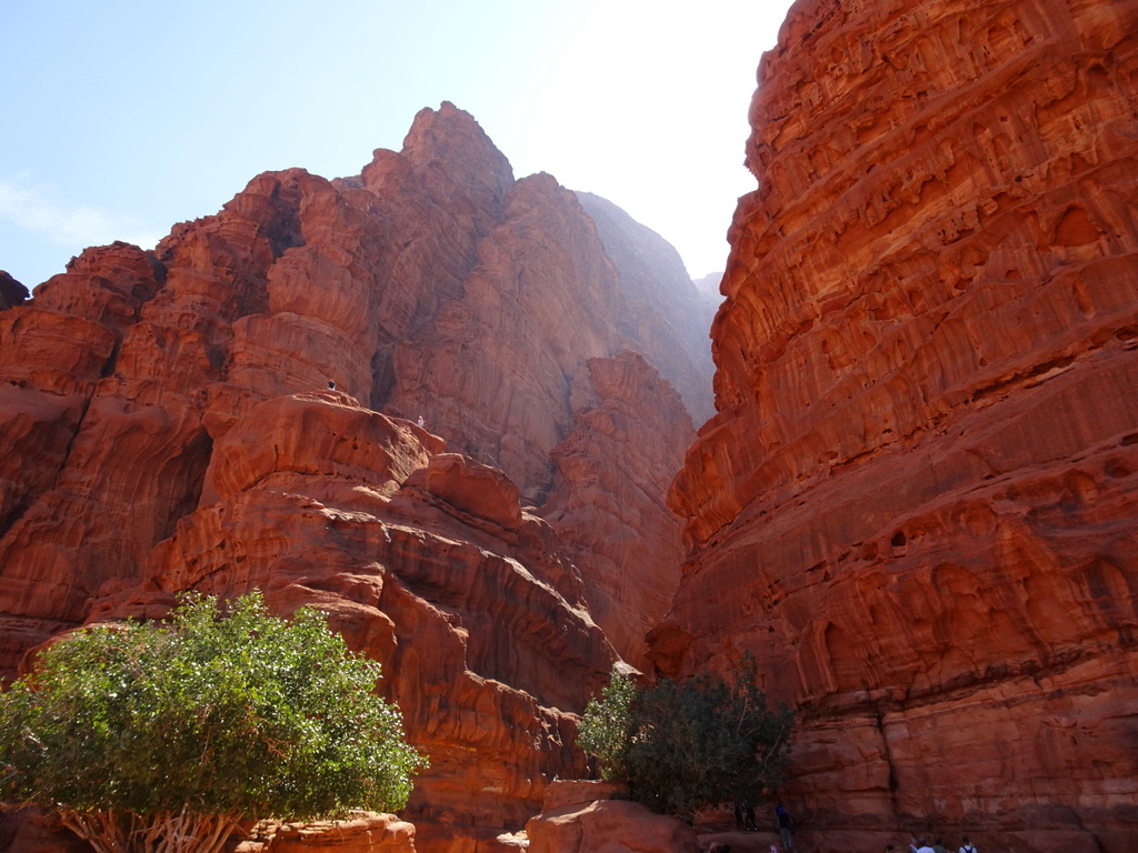 cayon desert jordanie
