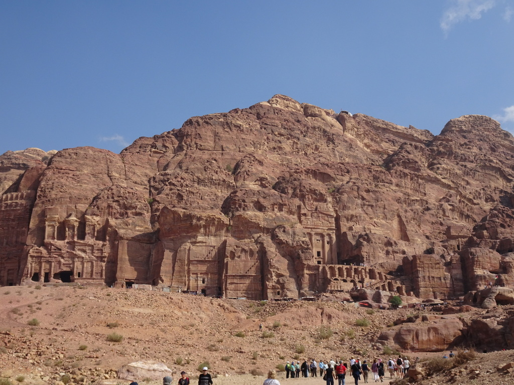 photo petra en jordanie