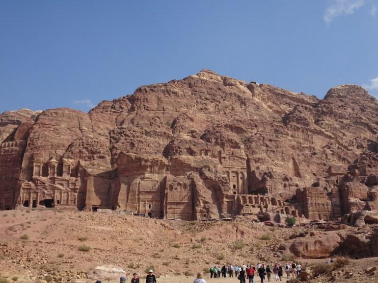 photo petra en jordanie