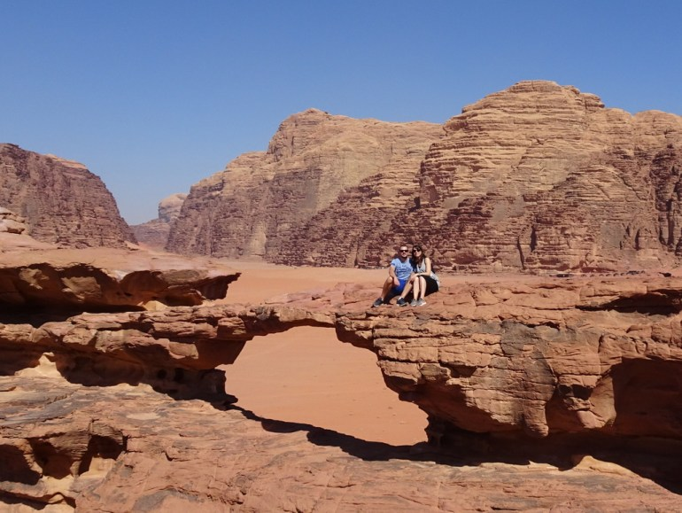 Burdah Rock Bridge - Wadi Rum Desert