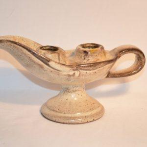 chandelier vintage en céramique Dieulefit