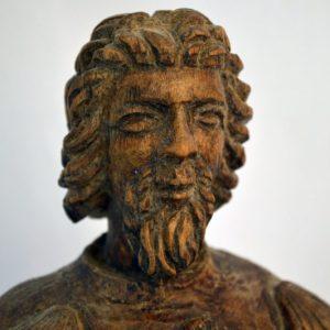 Statue en bois sculpté XVI