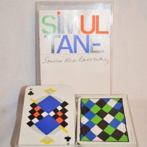 Sonia DELAUNAY: Simultané, Jeu de cartes