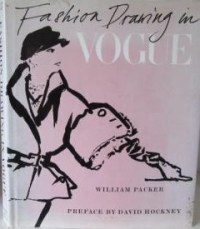 Fashion Drawing in Vogue - William Packer - 1983