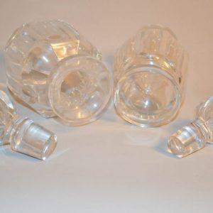 Flacons à parfum en cristal de Baccarat modèle Malmaison