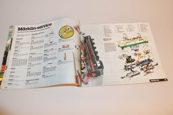 Märklin: Catalogue 1979 en Français