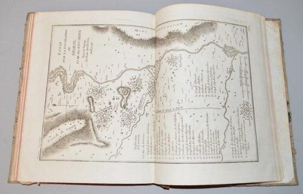 1791 - Recueil de Cartes Géographiques, Plans, Vues et Médailles de l'ancienne Grèce