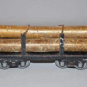JEP No:4598 - Wagon bois en grumes