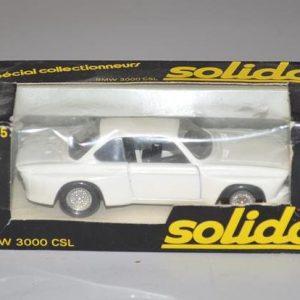 SOLIDO: No 75 - BMW 3000 CSL - Blanche