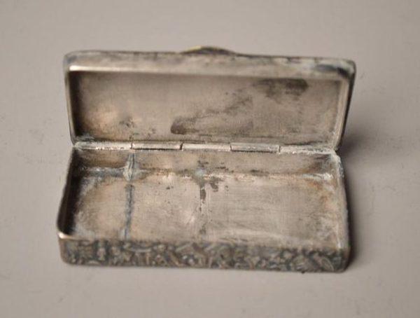 boîte à priser-tabatière-Jésus-Christ-Égypte -égyptologie