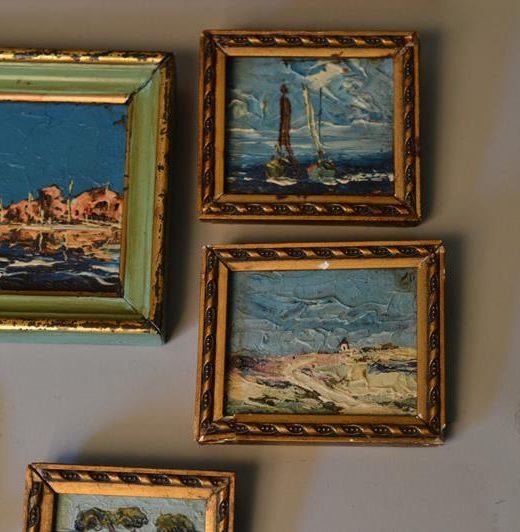 François OMER- peintre provençaux-tableaux