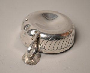 Tastevin En Argent - silver -Prise à Poucier XIX