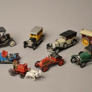 Lot de 8 voitures miniature -Corgi-solido-Rami JMK-Safir-Lesney's