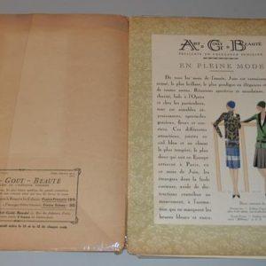 Art, goût, beauté : feuillets de l'élégance féminine Paris (Juin 1927)