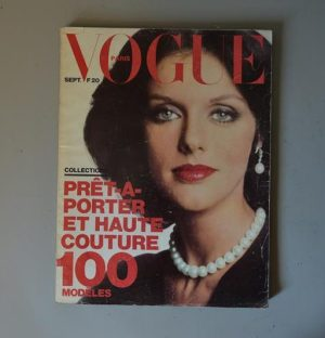 Vogue Paris - 539 - Septembre 1973 - Anny Duperey