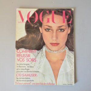 Vogue Paris - 541 - Novembre 1973 - Marisa Berenson