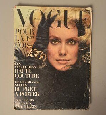 Vogue Paris - N°509 - Septembre 1970 - Catherine Deneuve