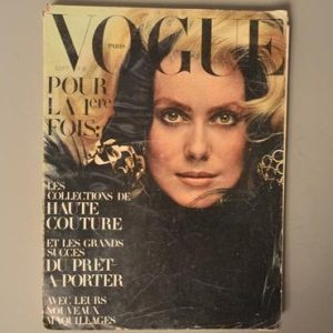 Vogue Paris - N°509 - Septembre 1970 - Catherine Deneuve