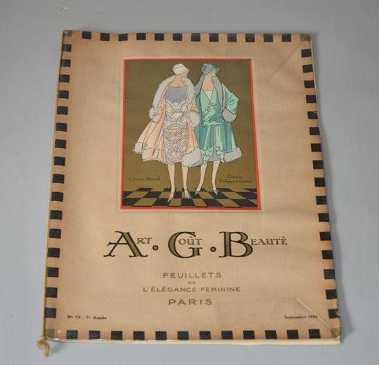 Art, goût, beauté : feuillets de l'élégance féminine Paris (Septembre 1926)
