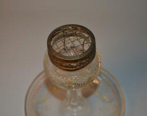 Centre de table - Pique Fleurs / Brule Parfum en Cristal
