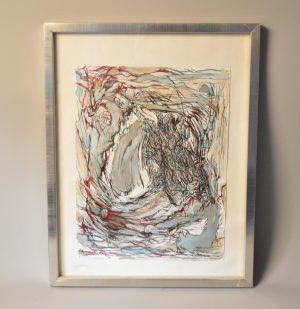 André CIPRIANI (XX): Tableau contemporain - paysage