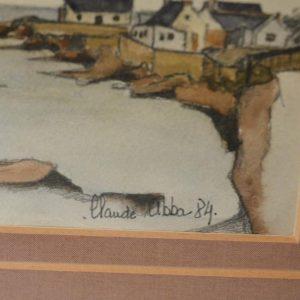 Claude ABBA - tableau - cote bretonne - breton