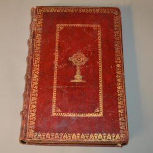 Missale Romanum Ex decreto Sacro-Sancti Concilii Tridentini Restitutum - missel - Avignon